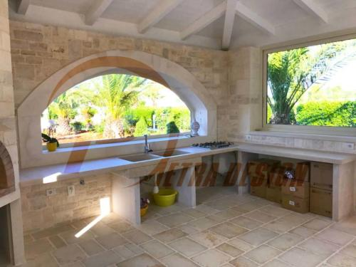 Cucine in pietra Bari