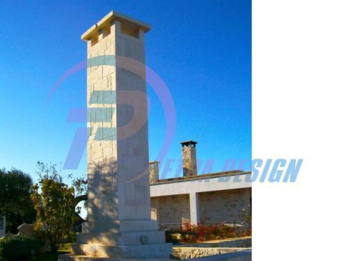 Ingressi e colonne in pietra Bari